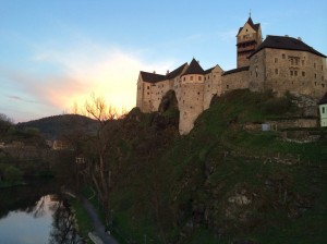 Loket, Czech Republic. 2014.